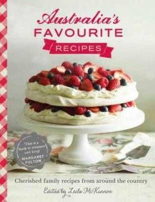 'Australia's Favourite Recipes' is the cookbook by Australians for Australians: more than 70 treasured recipes collected from families all around the country. Collated and edited by journalist and television host Leila McKinnon, and with a foreword (and pavlova recipe) by Margaret Fulton, the book features the stories and memories of everyday Australians and their favourite dishes, while celebrating the wealth and diversity of the food we hold dear.