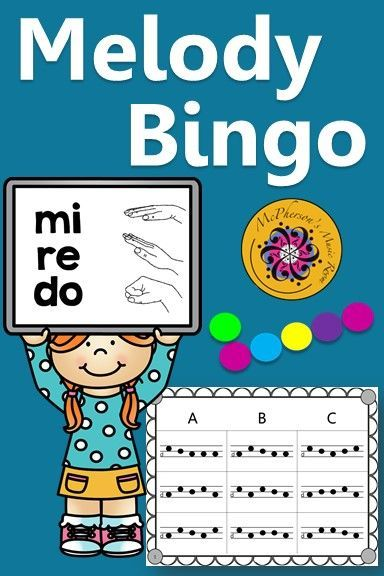 Your elementary music students will love this do re mi bingo game. Lots of winners! Use for whole group instruction, centers or with a substitute! Easy activity to add to lesson plan!