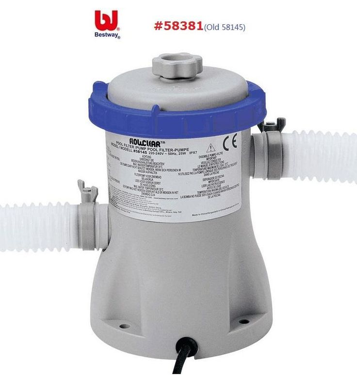 [Visit to Buy] #58381/58382 Bestway 330gal Flowclear Filter Pump/Laminated Swimming Pool Water Circulating Filter/swimming Pool Water Cleaner #Advertisement