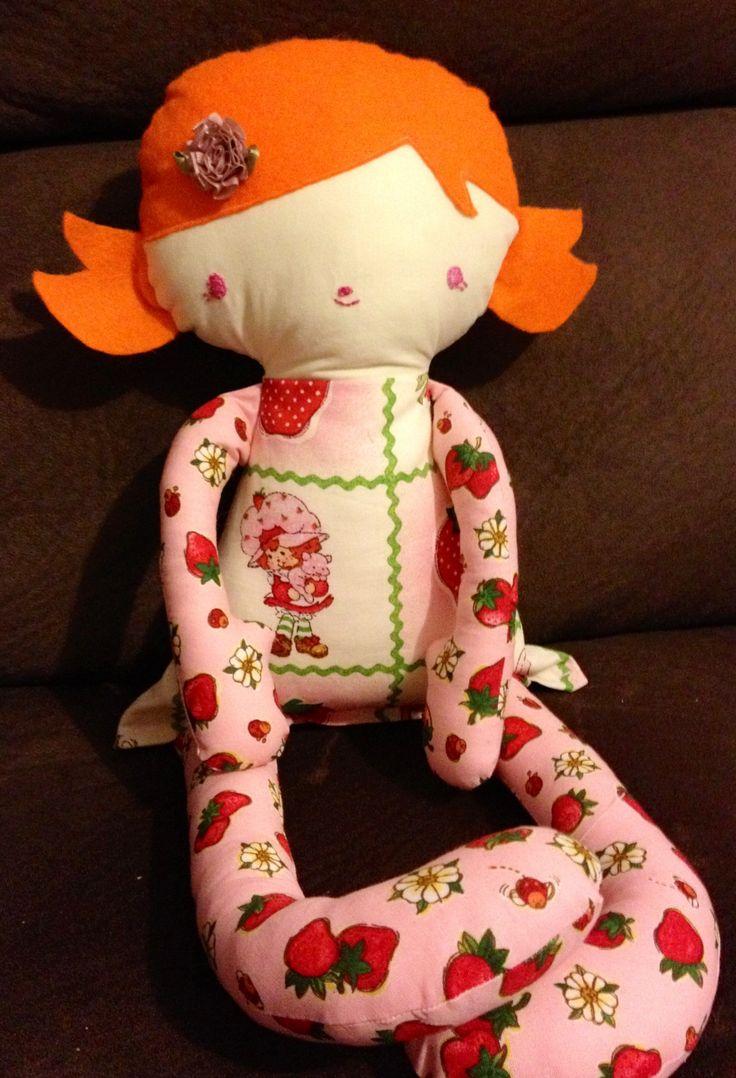 Strawberry shortcake doll. Bit of Whimsy pattern