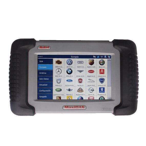 MaxiDAS DS708 is a state-of-art diagnostic system that delivers more accurate, more stable, more comprehensive, easier and faster diagnosis. The new generation platform stands out in a variety of tools by providing incredibly high performance with intuitive operation. Right for the first time, workshops and technicians could find an OE-level diagnostic solution designed for the aftermarket. The DS708 is the key to gain customer confidence and boost your bottom-line.