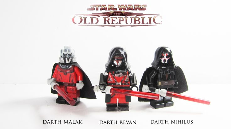 #starwars The Old Republic Sith lords