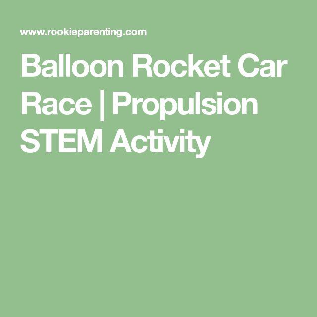 Balloon Rocket Car Race | Propulsion STEM Activity