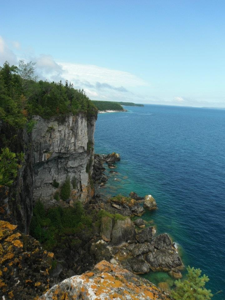Hiking on the Bruce Trail, Bruce Peninsula