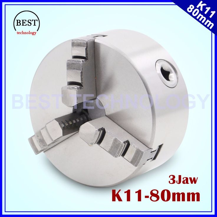 K11 80mm 3 jaw Chuck self-centering manual chuck four jaw for CNC Engraving Milling machine ,CNC  Lathe Machine!  #Affiliate