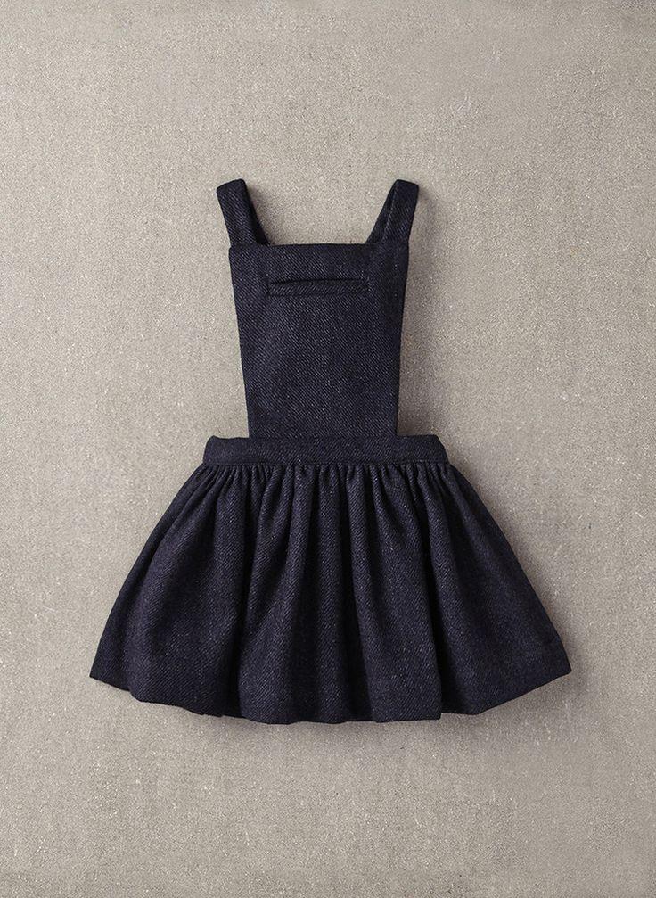 Nellystella Ella Dress in Navy Wool - N15F012 - PRE-ORDER
