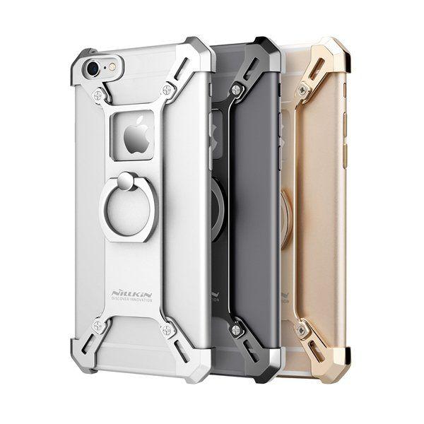 NILLKIN Barde Metal Ring Bracket Holder Case Shockproof Back Cover Bumper for iP…