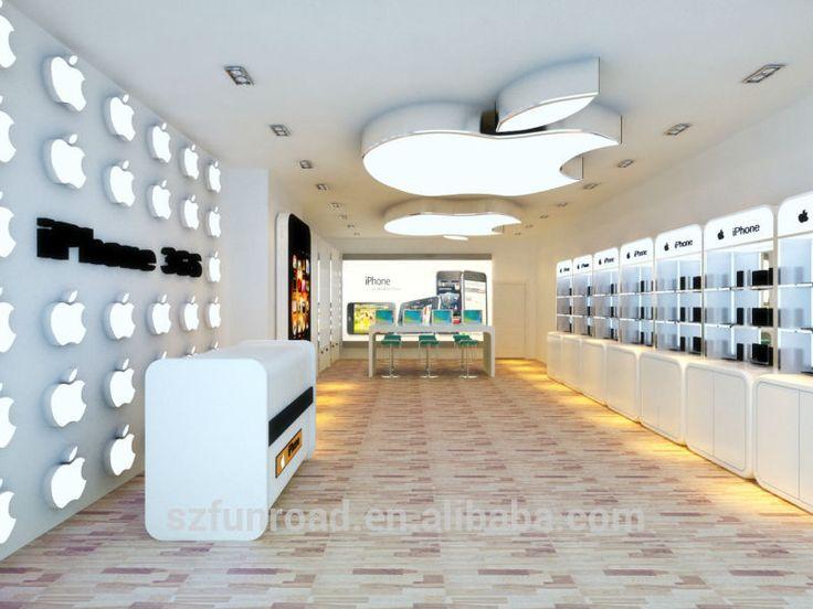 Mobile furniture shop/furniture computer shop/showcase for mobile phone shop decoration