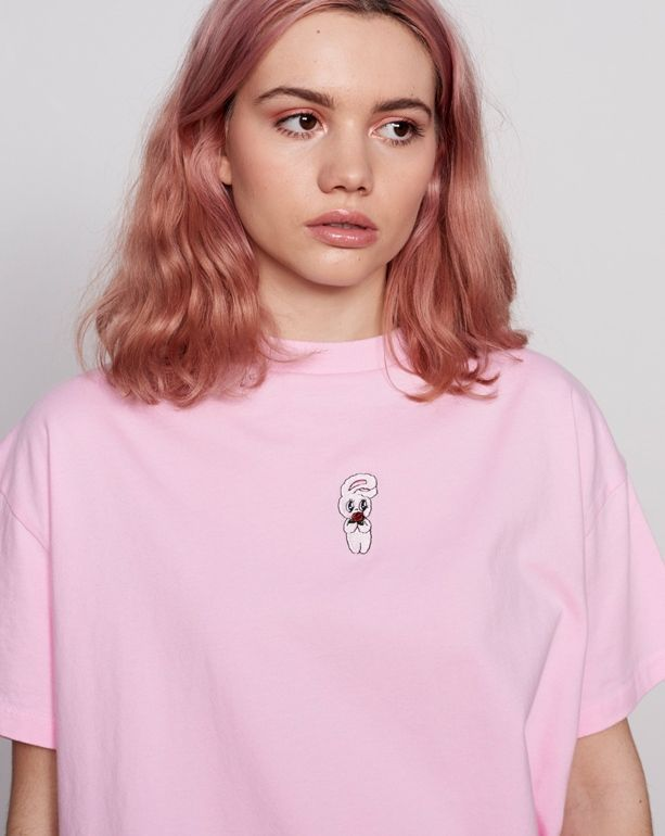 kurze Frisuren – Esther liebt Oaf Bunny Rose T-Shirt – Esther liebt Oaf – Featur…