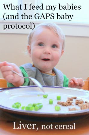 How to Start Solids with baby on the GAPS Diet {and what we do in our family} | Health, Home, & Happiness (tm)