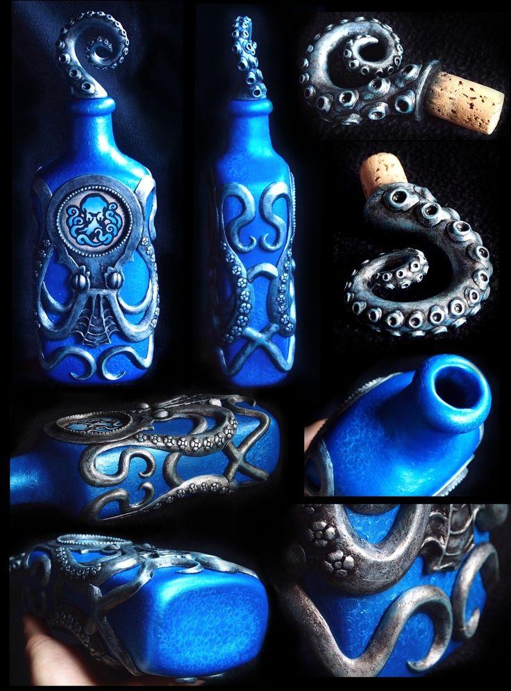 Undertow Vigor Bottle - Bioshock: Infinite by p4ndor4TheBox.deviantart.com on @DeviantArt