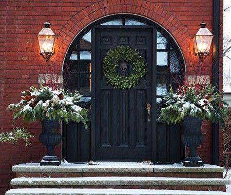 Des entrées festives et accueillantes