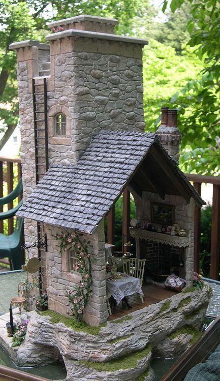 Medieval Lighthouse made into a Tea Shoppe - Genius!