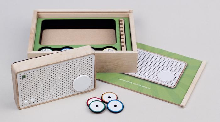Spotify Box | Umea Institute of Design - Sweden | IxDA Interaction Awards  Winner: Disrupting