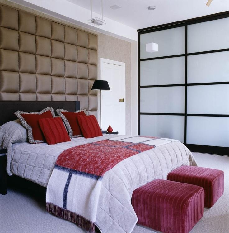 Bedroom. Design by Oliver Burns.