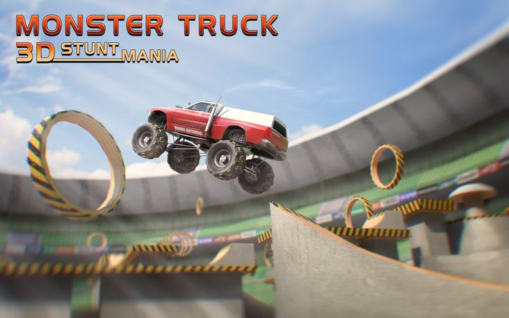 Our first #arena #stunts #game is out. Get it now and perform incredible jumps! Don't forget to rate and review!