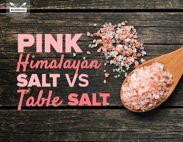 Pink Salt -vs- Table Salt ~~~ The truth about pink salt. You may never want to pick up table salt again.