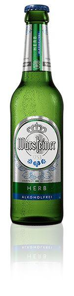 Warsteiner Herb Alkoholfrei - Doppelt gehopft, verleiht der Hallertauer Aromahopfen diesem Pilsener seine natürlich-herbe Note. Alkoholfrei & isotonisch, ist dieses Pilsener der ideale Durstlöscher auch für Sport und Freizeit.