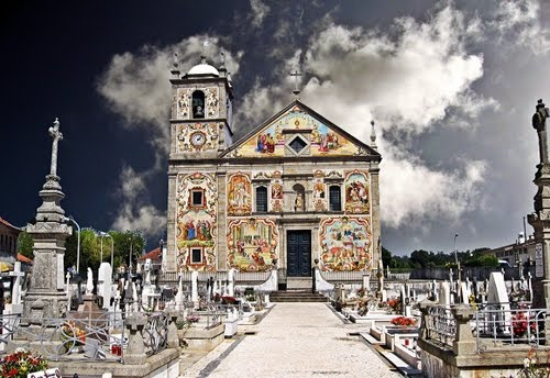 Valega Church in Ovar, Centro de Portugal Region, Portugal