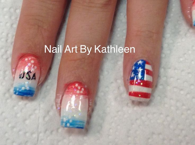 25 Best Ideas About American Nails On Pinterest