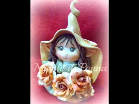 Tutorial Fatina d'Autunno in Fimo - Polymer Clay Tutorial Autumn Fairy - YouTube
