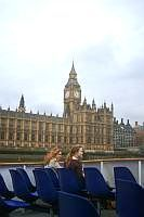 London Eye River Cruise: Big Ben and Houses of Parliament from the River Thames on a London Eye River Cruise.