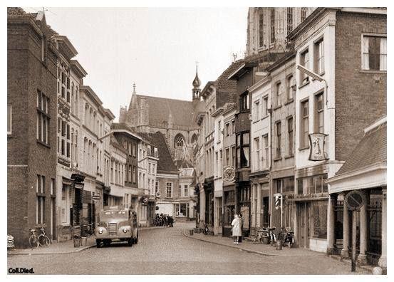 Breda, Vismarktstraat 1962.