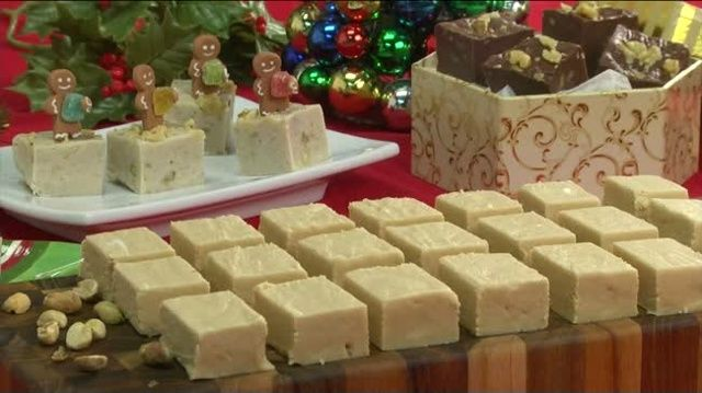 Mr. Food: Fudge! Melt Away Peanut Butter Fudge, Chocolate Walnut Fudge, Holiday Gingerbread Fudge