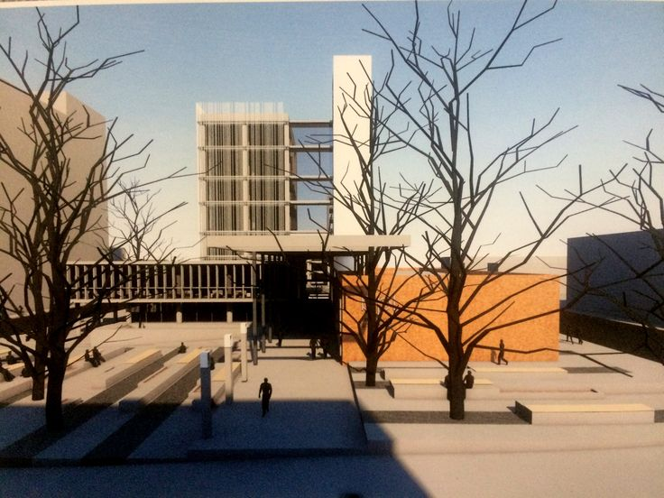 University of the Free State, Extension of city library, Bloemfontein (Guido Theron)