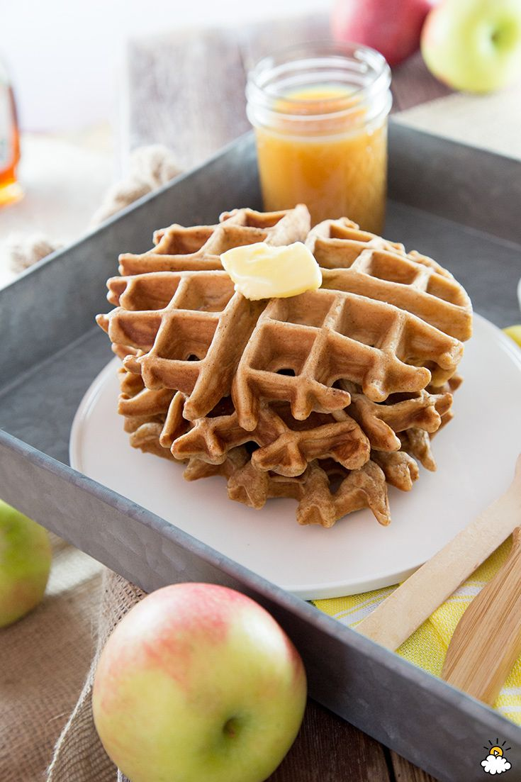 Apple Cider Waffles - Pour Ordinary Apple Cider Into Batter For The Tastiest Fall Waffles Ever