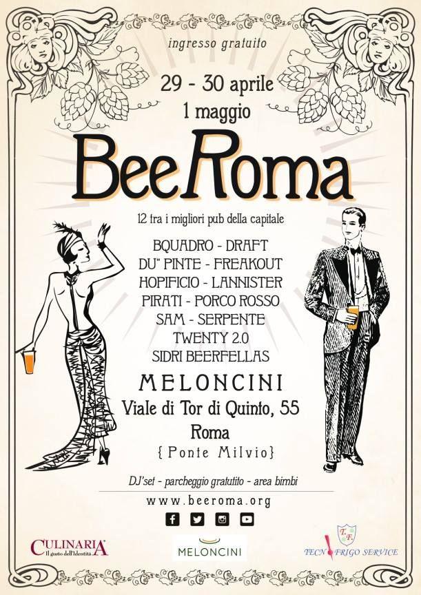 Torna BeeRoma, un lungo weekend tra birra artigianale e grandi novità - Le Strade della Birra, il magazine sul mondo della birra artigianale in Italia