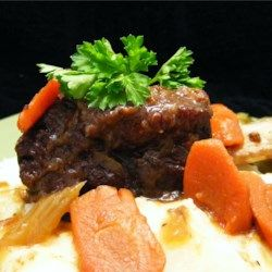 The BEST short rib recipe I've ever found. With a few tweaks of course to make it my style but SO good.