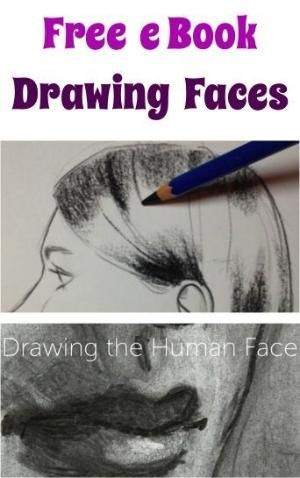 FREE eBook: Drawing Faces! {easy tips and tricks for how to draw realistic faces} by Heather Robinett