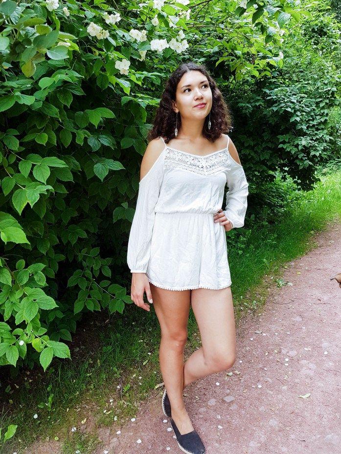 Weißer Jumpsuit: Weiß richtig tragen; #Fashionblogger #Ootd #Lookbook #Mode