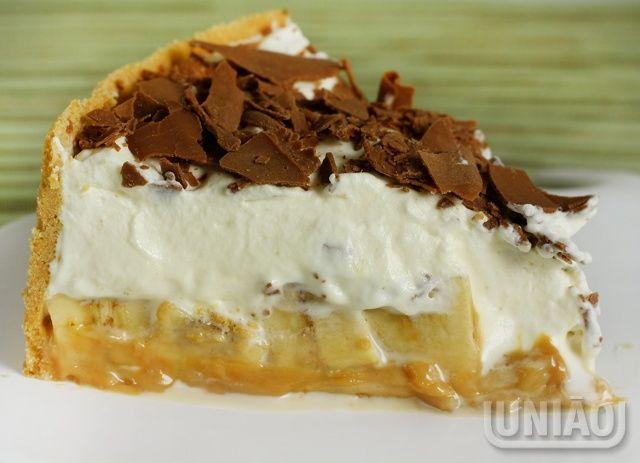 Biscoito Maria_doce de leite_bananas_Creme de leite fresco.Receita Uniãp<3BANOFFEE PIE