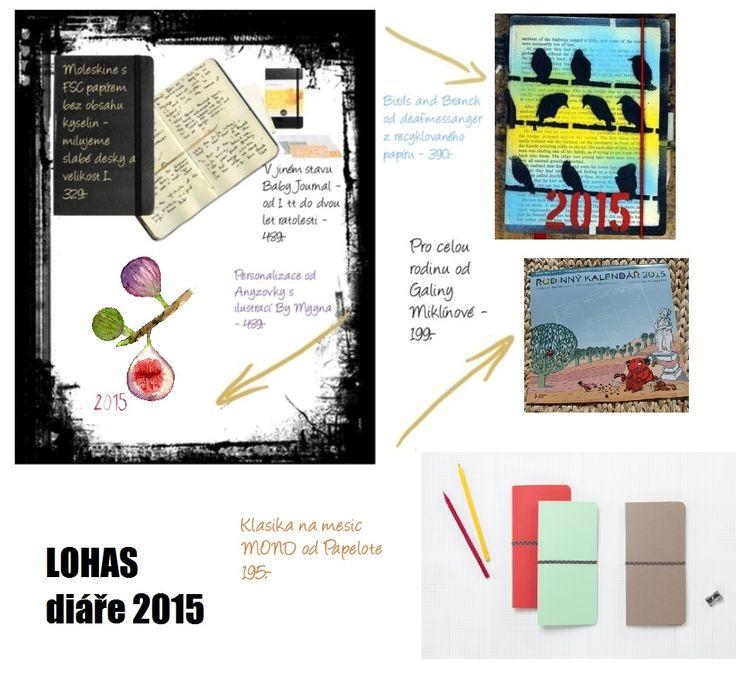 The Best of LOHAS: Diáře 2015