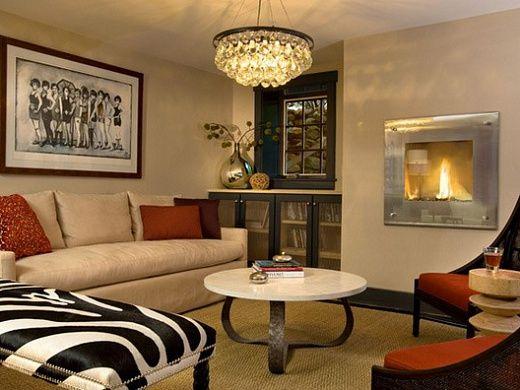 Небольшая гостиная А знаете ли вы, что много места для приема гостей не надо. Всего несколько метров можно превратить в уютную гостиную.