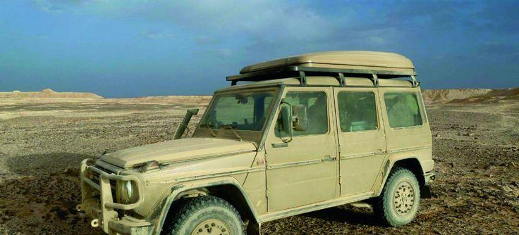 Auf-G-rüstet: Der G Entdecker: Konsequent auf Leichtbau getrimmetes Expeditionsfahrzeug auf Basis des Mercedes-Benz G 461 Modells – Sternstunde – Martin Costa