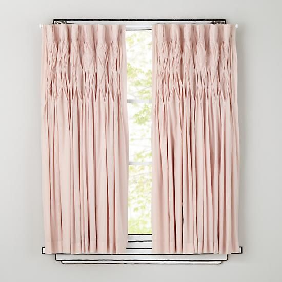 Vintage-inspired Curtain Panels have a beautifully sophisticated look.