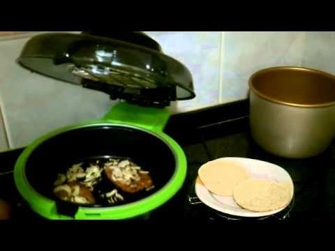 Hamburguesa con cebolla en Cecofry