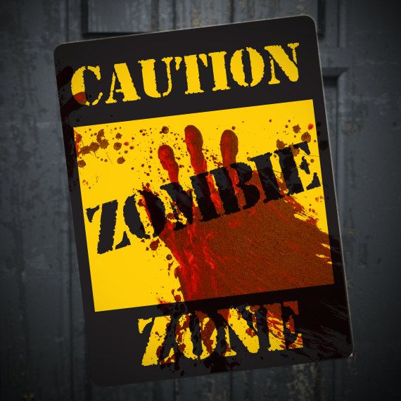 Diy Zombie Halloween Decorations