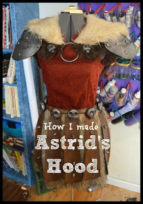 Uniquely His: Astrid's Fur Hood <---- My Astrid Cosplay so far!!! Pictures and Tutorial on my blog {Sydney R.}