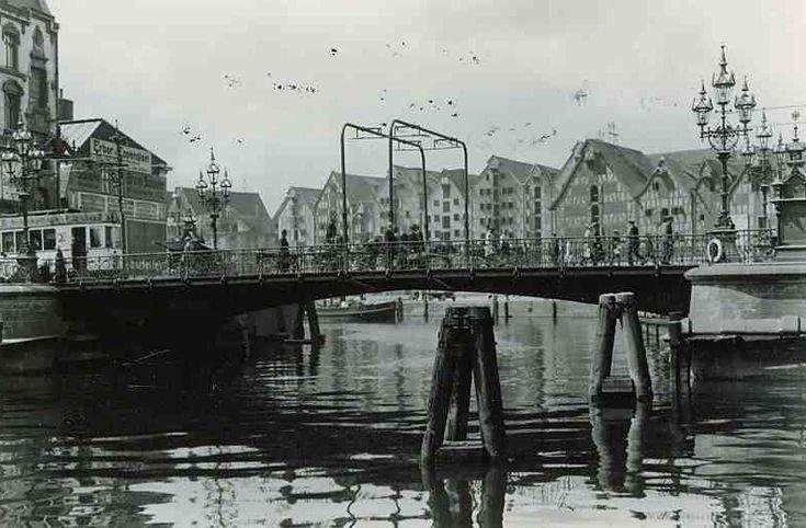 Königsberg Pr.  Krämerbrücke, Lastadie