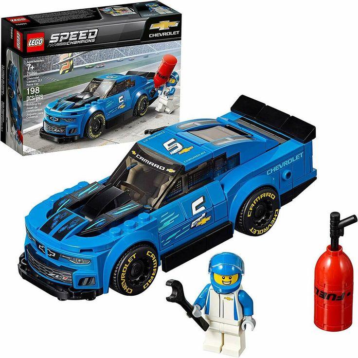 LEGO Speed Champions Chevrolet Camaro ZL1 Race Car 198Pc