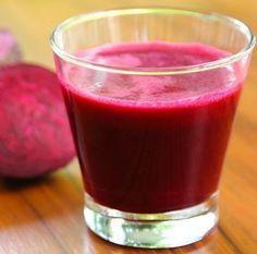 Suco de beterraba e limão para desintoxicar o fígado