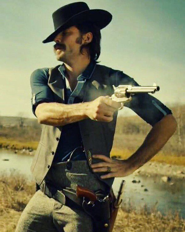 Tim Rozon as Doc Holliday in #WynonnaEarp on #SyFy. Awesome show. Addicting.