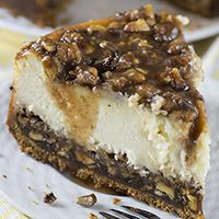 Pecan Pie Cheesecake could become the ideal Thanksgiving treat. Try it!