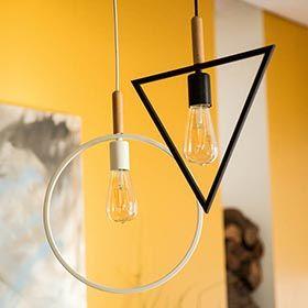 Lámpara de techo Triangulo