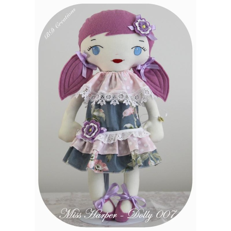 $40.00 Dolly 007 Harper by bdcreations on Handmade Australia