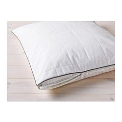IKEA - ROSENDUN, Pillow protector,  , Queen, , You can prolong the life of your pillow and protect against stains and dirt with a pillow protector.A temperature-regulating inner lining reacts to your body temperature and keeps you comfortable while sleeping.You get a dry and comfortable sleeping environment since the lyocell/cotton cover breathes well, which helps air to circulate and moisture to evaporate.A good choice if you are allergic to dust mites since the mattress protector is…